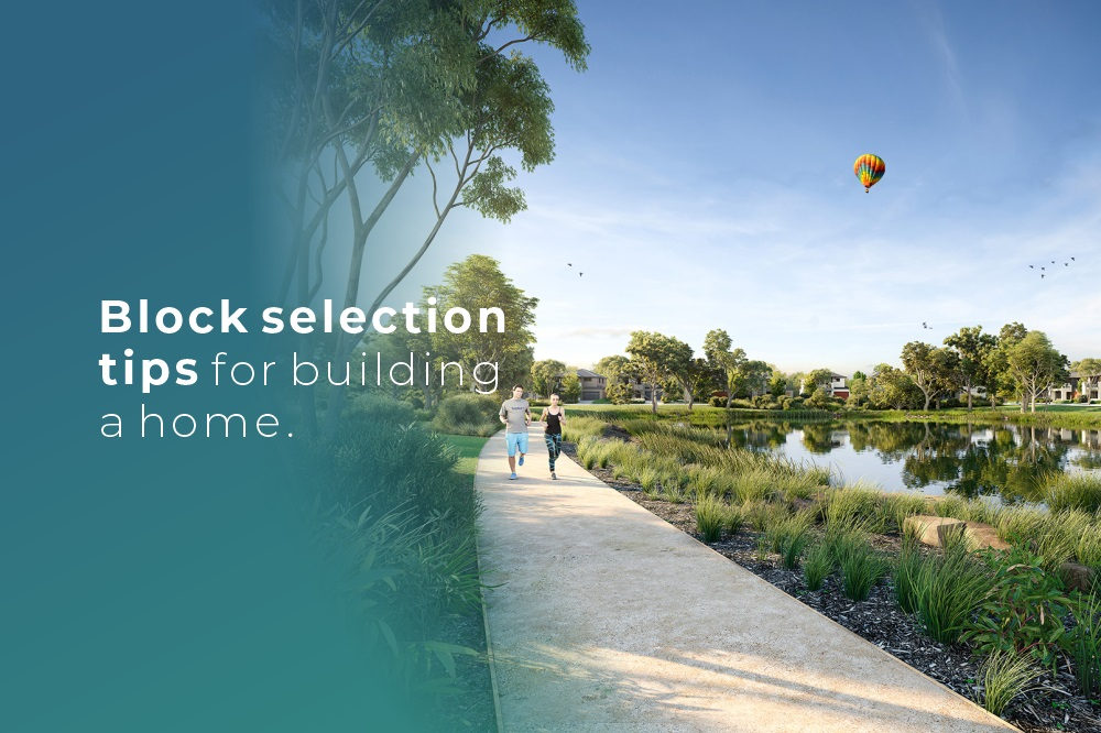 Block selection tips for building a home